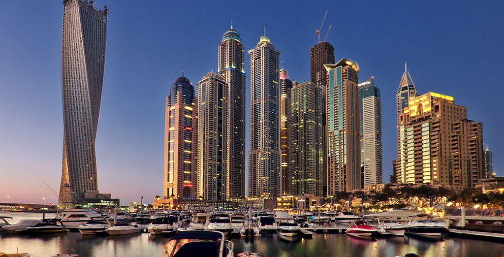 Votre séjour vous conduira aux portes de Dubai