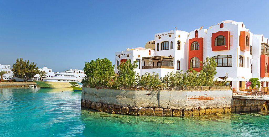 Explorez la ravissante ville d'Hurghada