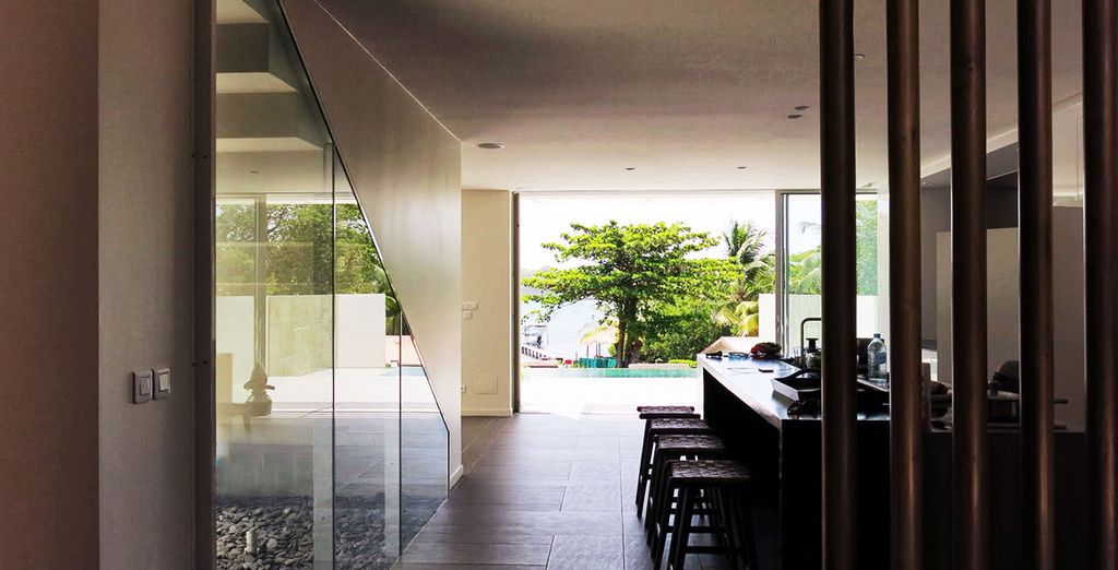 Séjournez dans une somptueuse villa d'architecte