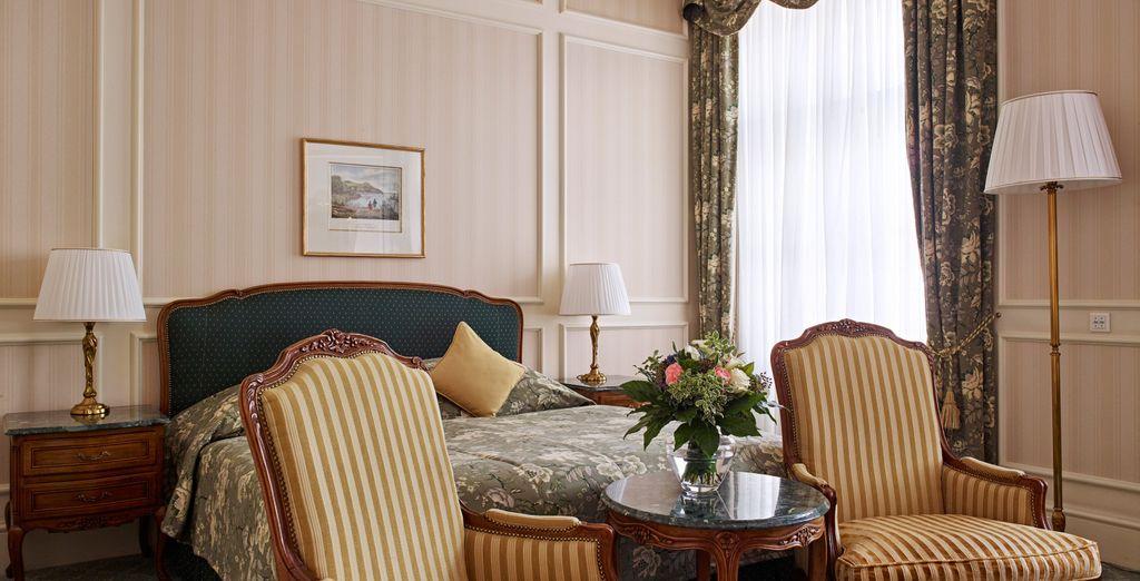 À moins que vous ne préfériez séjourner en chambre Deluxe, plus spacieuse
