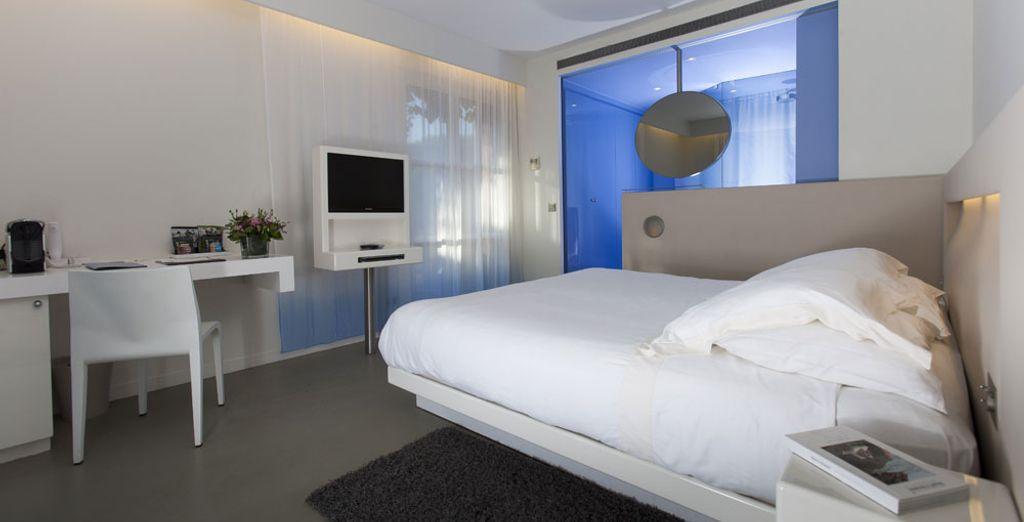 Per il comfort più totale scegliete una camera Luxe