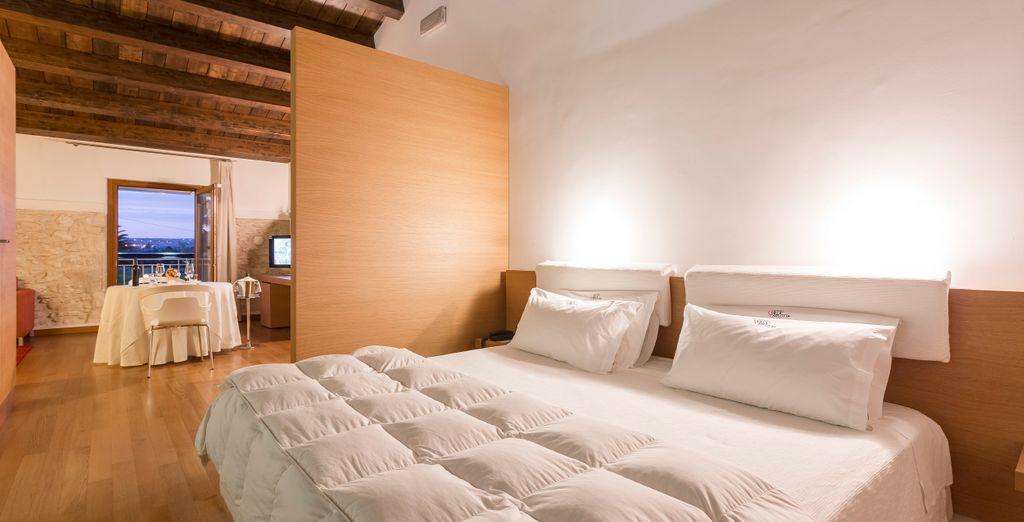 Un letto comodo