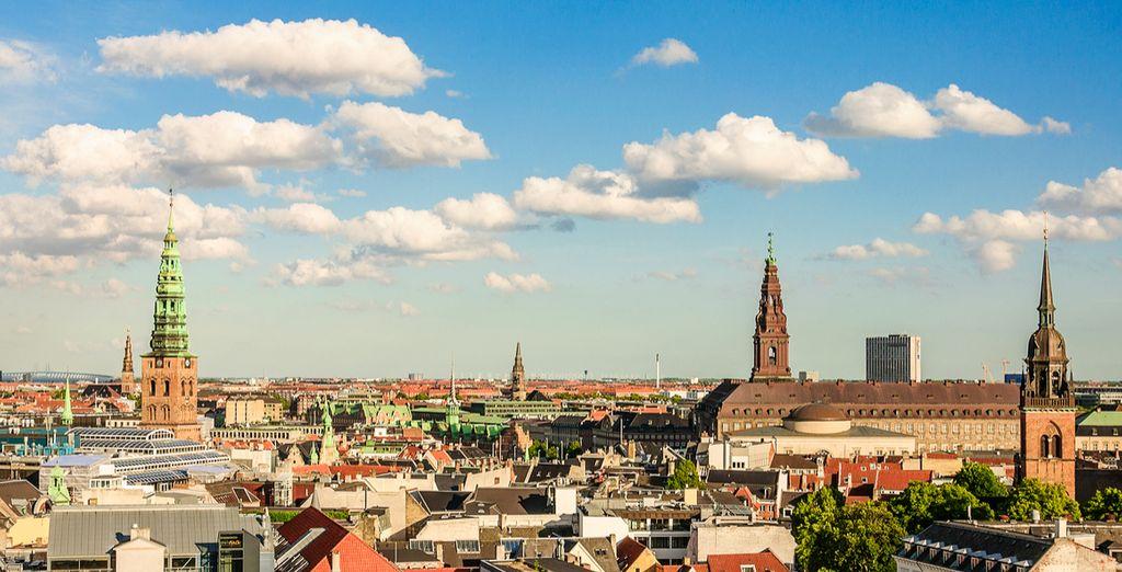 Poi andate a esplorare le bellezze di Copenhagen