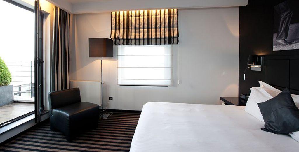 Scegliete tra quattro camere soleggiate