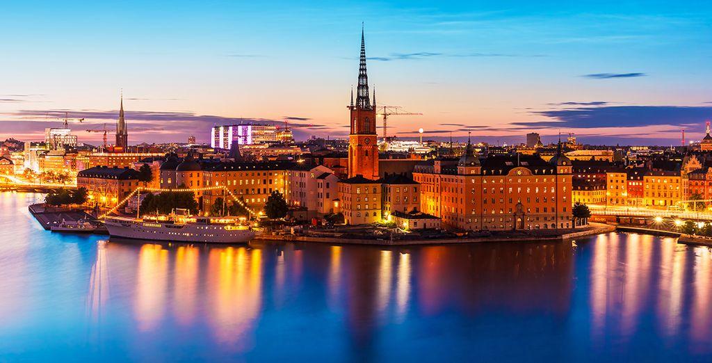 Una splendida città europea