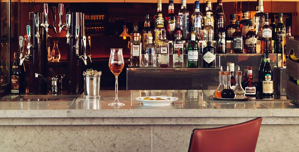 Al bar troverete cocktail e drink di qualità
