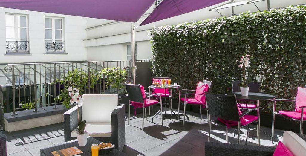 O rilassarvi in terrazza