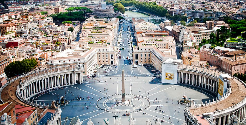 Roma è pronta a farvi trascorrere un soggiorno indimenticabile.