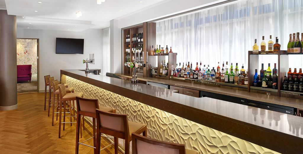 anche il bar sarà il luogo ideale per rilassarsi