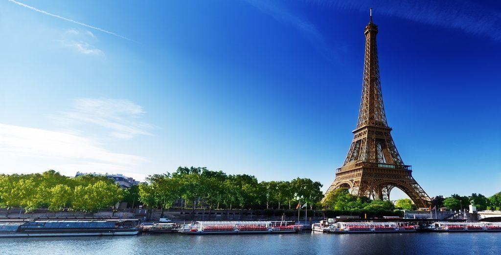 Visitate Parigi con tutti i suoi monumenti