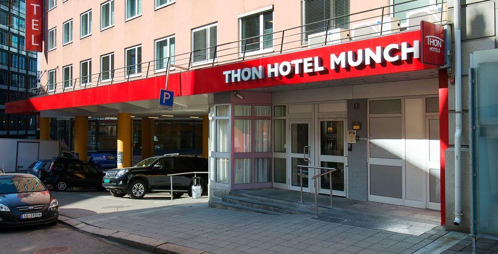 A Oslo potrete soggiornare presso il Thon Hotel Munch