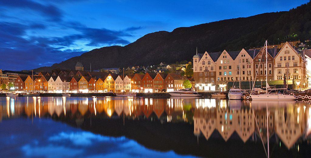 Scoprite la città di Bergen, patrimonio dell'Umanità