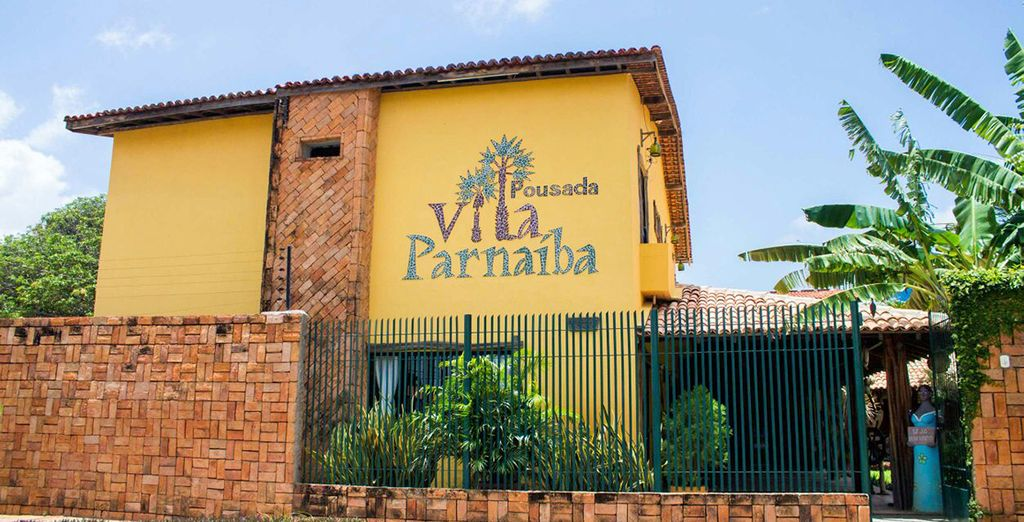 Qui vi rilasserete presso Pousada Villa Parnaiba