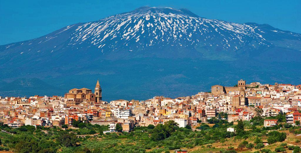 Hotel di charme con vista maestosa sul vulcano Etna