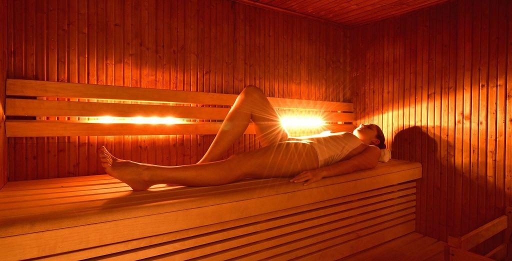 rilassatevi con una sauna