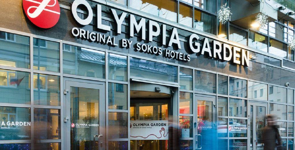 A San Pietroburgo l'hotel Sokos Olympia Garden 4*, vi garantirà un soggiorno piacevole e rilassante