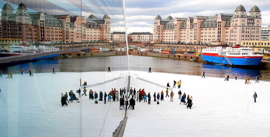 Partirete da Oslo per scoprire i suoi monumenti