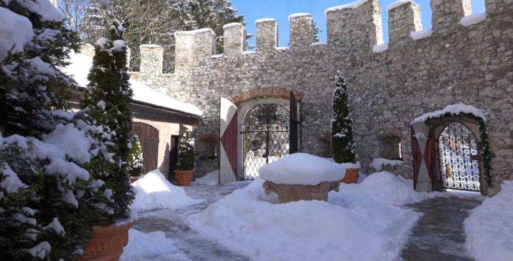 un luogo che in inverno diventa il regno delle favole