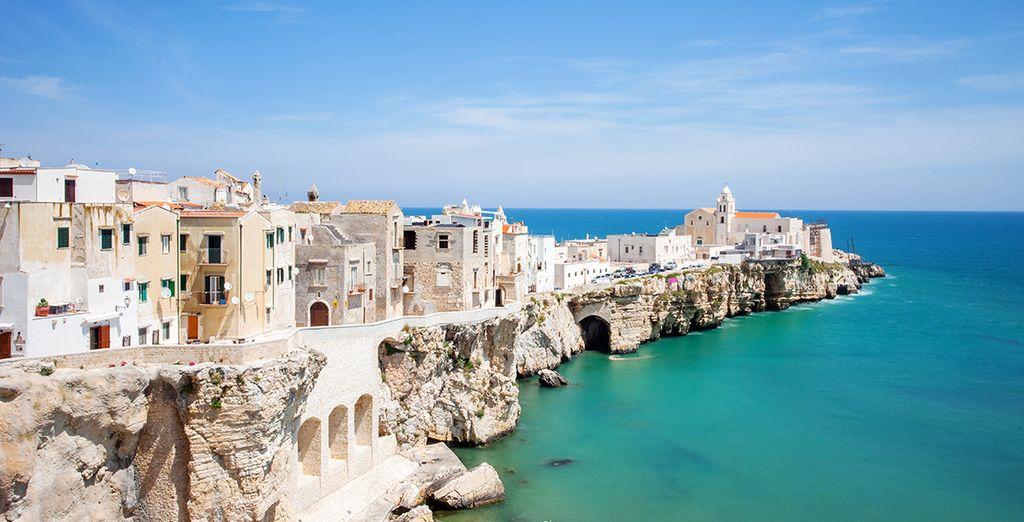 Fotografia della città di Bari, Puglia in Italia