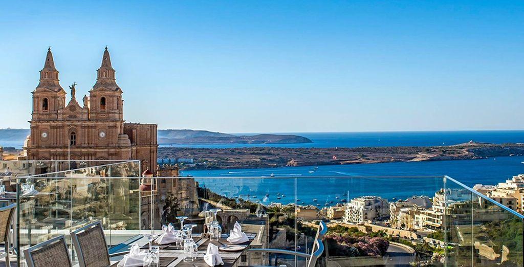 Il Maritim Antonine Hotel & SPA 4* è pronto ad accogliervi