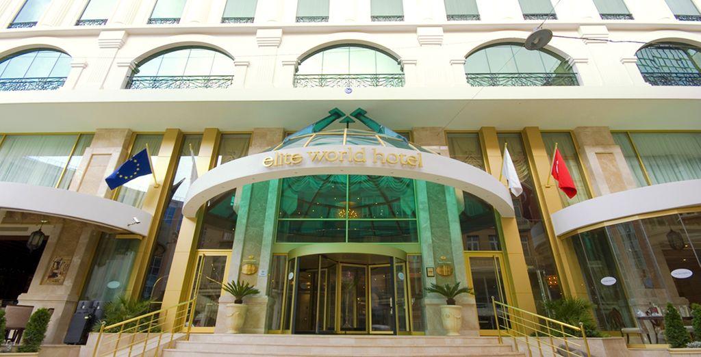 Elite World Istanbul Hotel 5* vi apre le sue porte