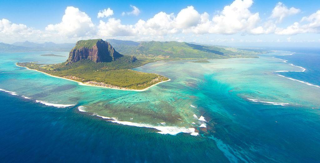Fotografia di Mauritius, le sue spiagge di sabbia fine e foreste