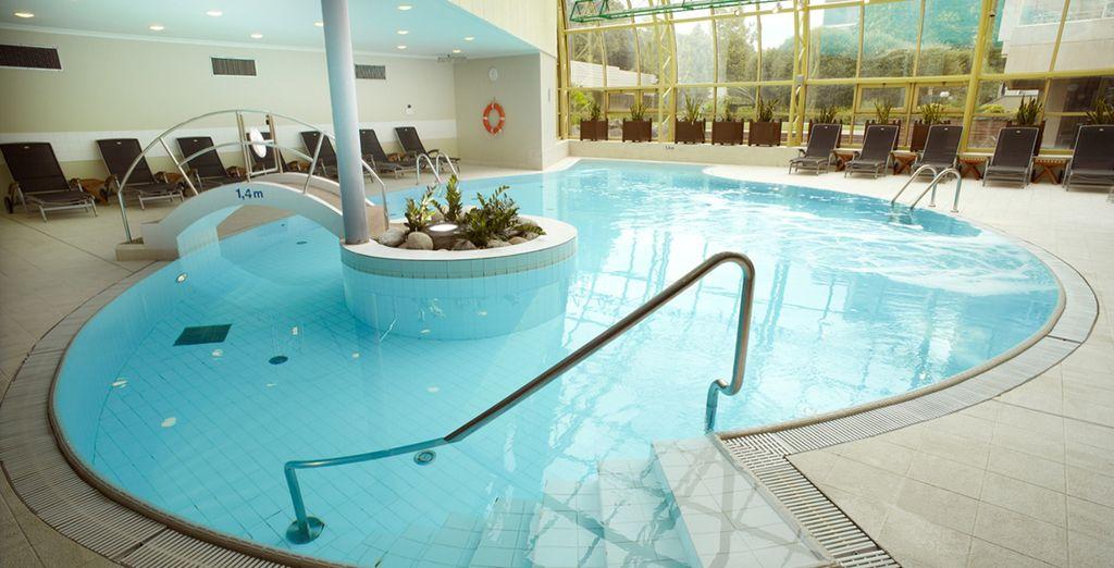 Hotel di lusso con piscina coperta riscaldata e area relax