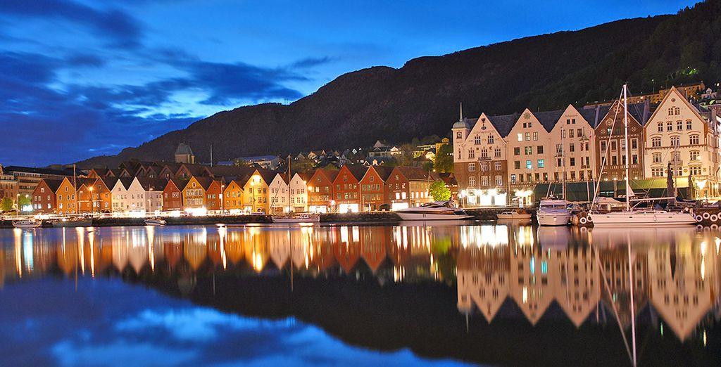 capitale dei fiordi, città ricca di charme