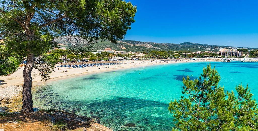 Spiagge e relax sulle isole balene in Spagna, spiagge di sabbia fine e coste rocciose che si affacciano su acque turchesi