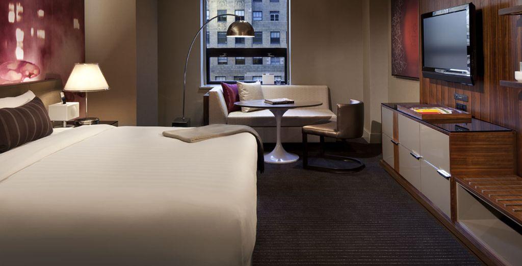 Per voi abbiamo riservato un soggiorno nelle confortevoli camere Standard