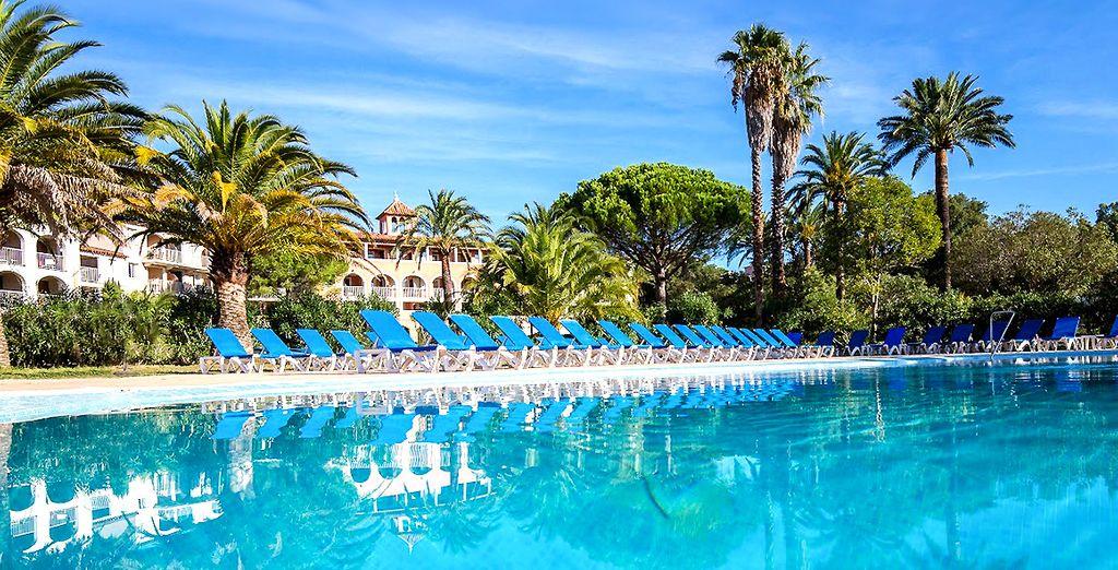 Benvenuti all'Hotel Du Soleil De Saint Tropez