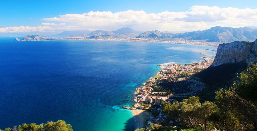 Fotografia della Sicilia e dei suoi maestosi paesaggi