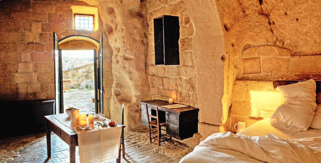 Benvenuti al Sextantio Le Grotte della Civita 4*