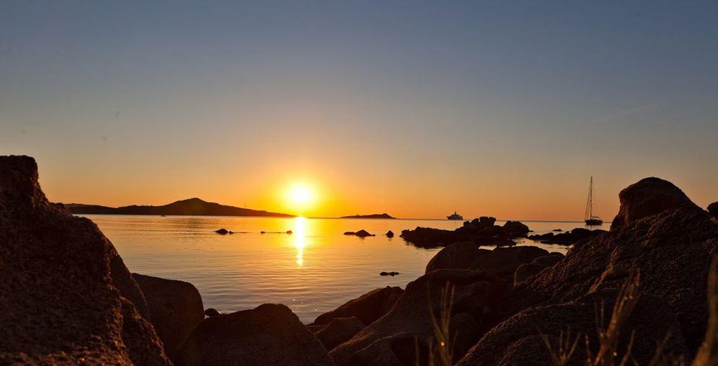 Dove potrete ammirare incantevoli tramonti.