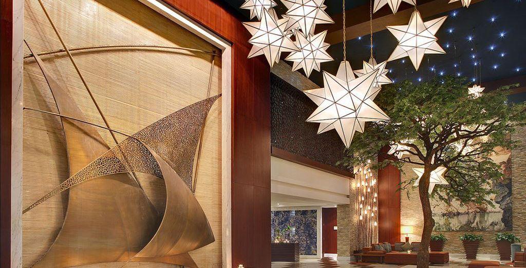 Questo hotel vi farà sentire delle vere e proprie superstar.