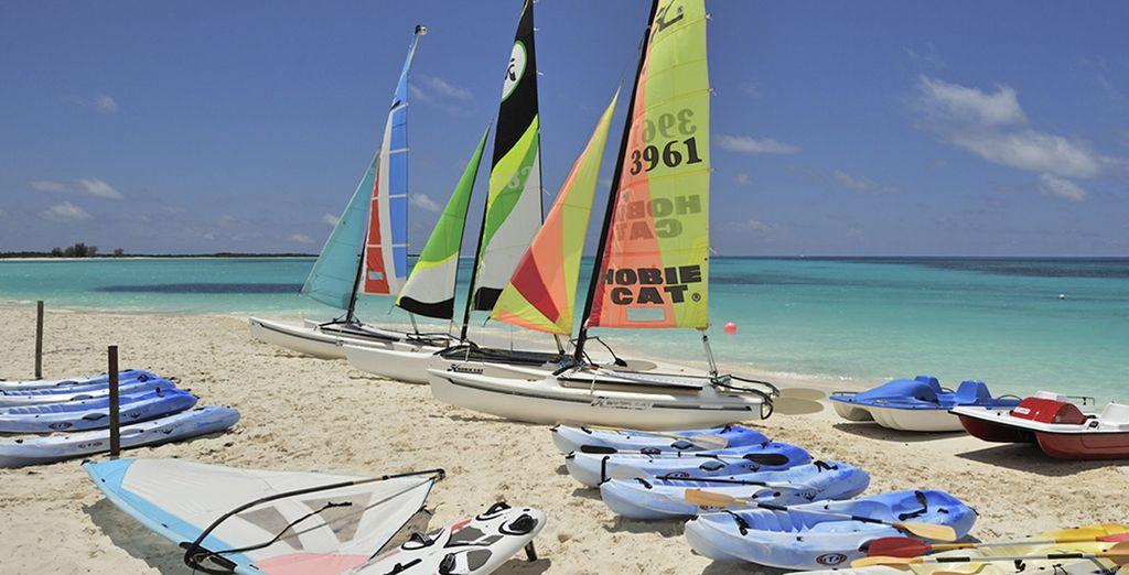 Spiagge infinite, mare e sole... un vero paradiso tropicale