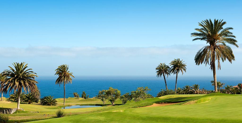 Giocate a Golf sul campo esclusivo