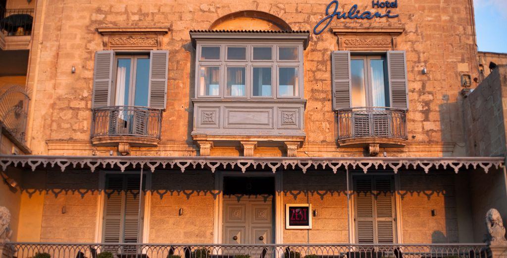 Il Juliani è il vostro intimo ed esclusivo boutique hotel a Malta