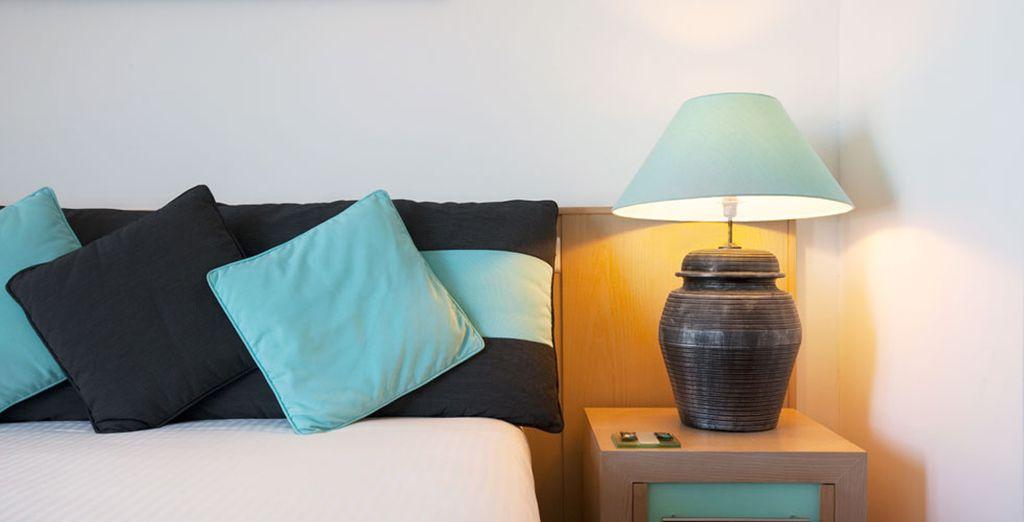 Le camere Standard saranno il vostro rifugio ideale