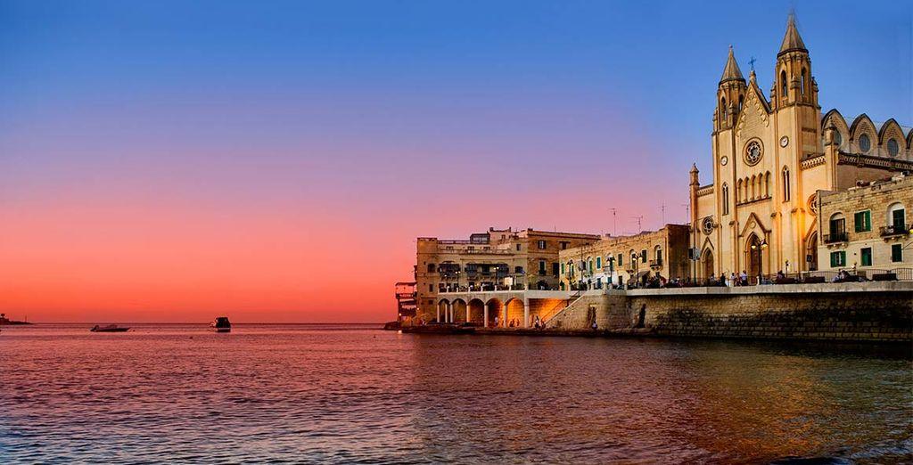 Scoprite la pittoresca St. Julian, sull'isola di Malta