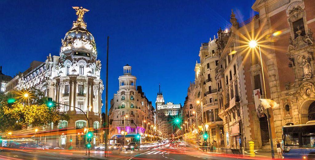 Benvenuti nella vivace e affascinante Madrid