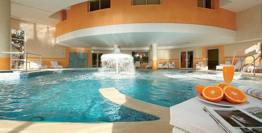 Godetevi momenti di relax in piscina