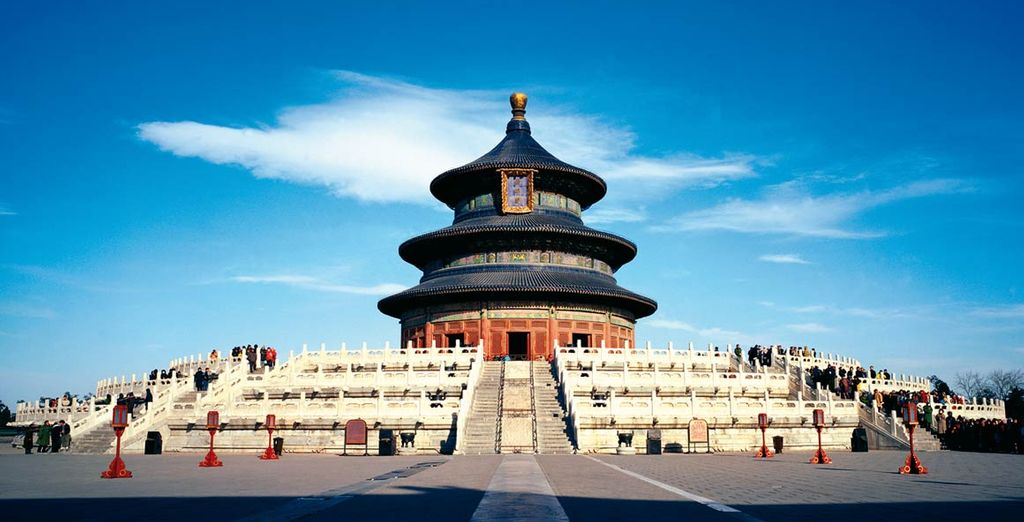 Visitate il tempio del Cielo di Pechino