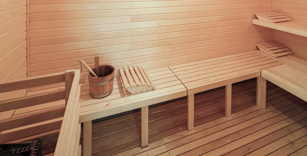 Rilassatevi in sauna dopo una giornata in giro per la città