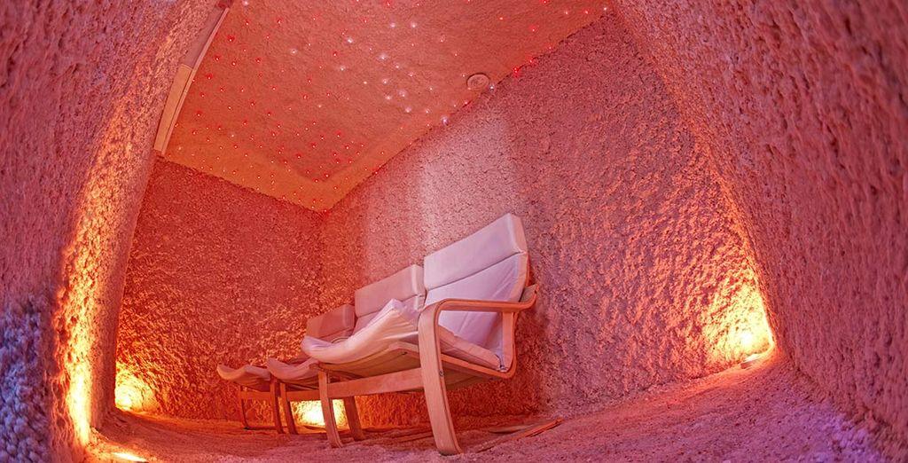 Proverete la splendida grotta di sale