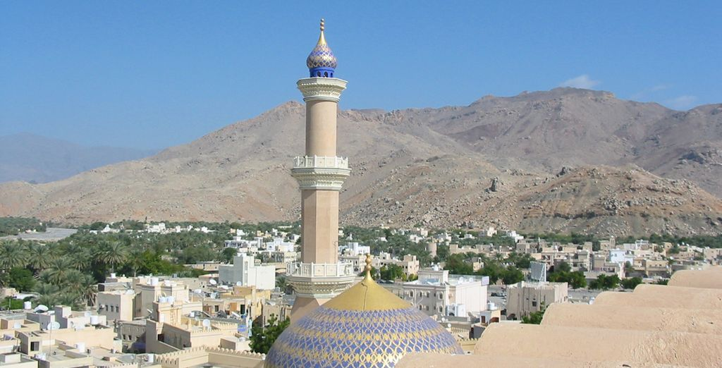L'architettura tipica araba vi sorprenderà