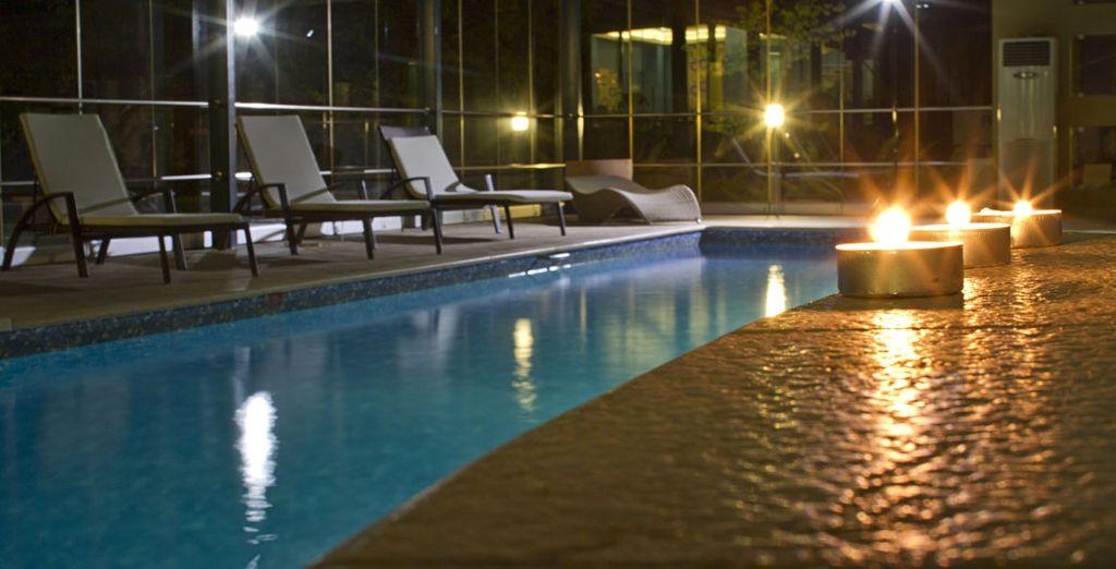 La spa è perfetta per rilassarsi