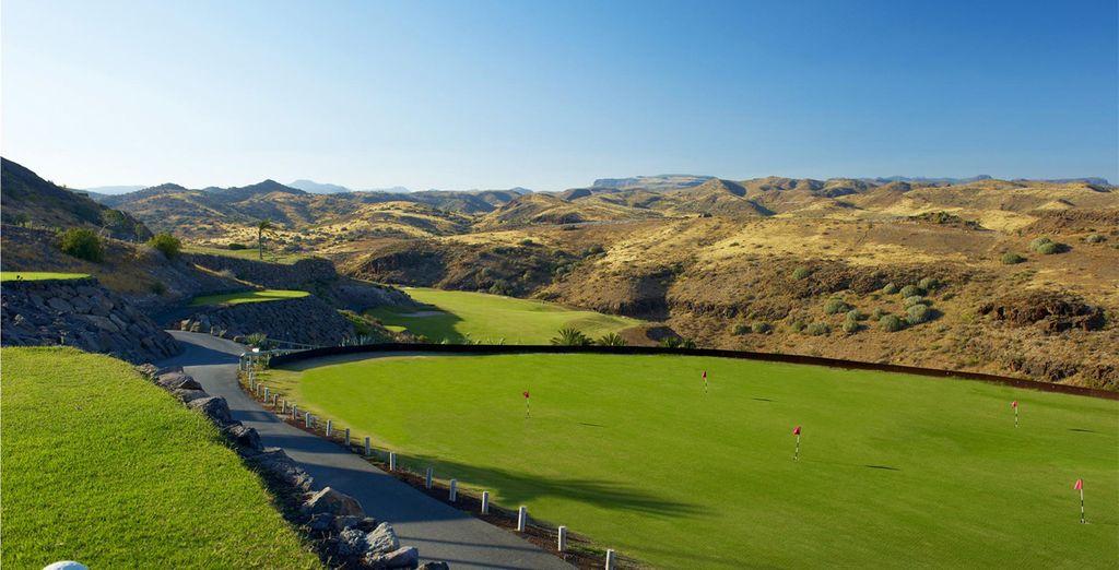 E rilassatevi in uno dei campi da golf più esclusivi