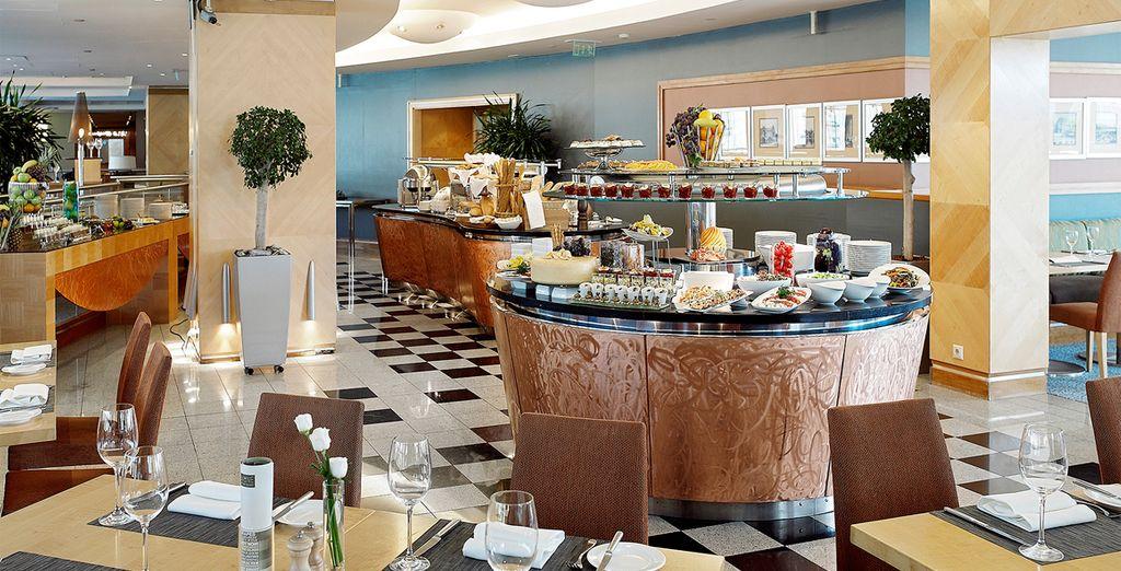 Godere delle raffinate specialità del ristorante Arrabona