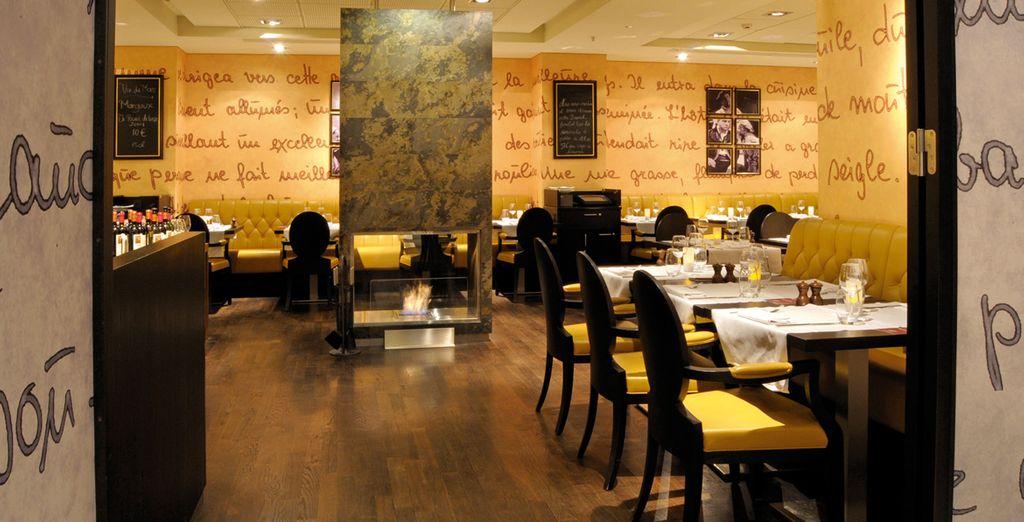 L'hotel dispone di un ristorante dedicato agli amanti della nouvelle cuisine